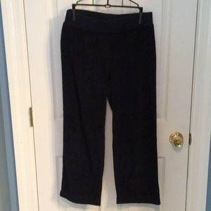 NWOT Talbots French Terry Pants Size Small